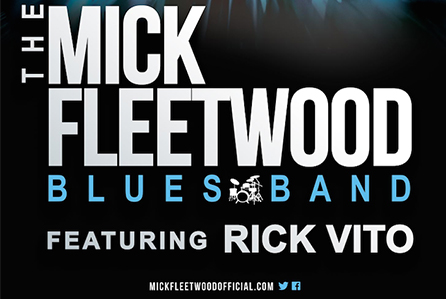 THE MICK FLEETWOOD BLUES BAND ANNOUNCES AUTUMN TOUR OF WESTERN U.S. AND CANADA