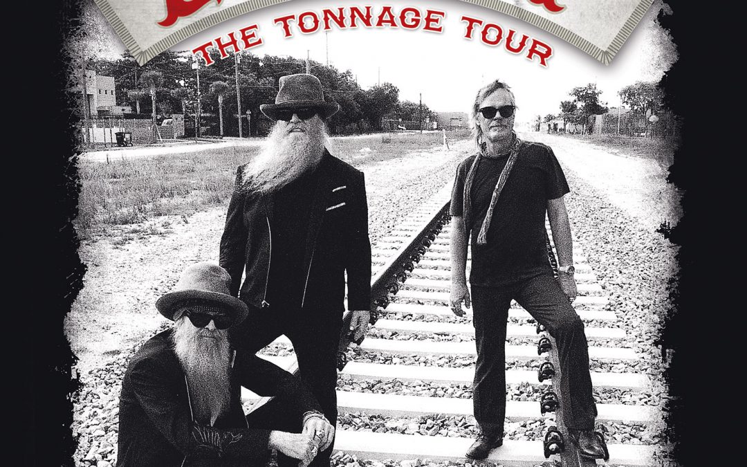 ZZ Top are set to begin THE TONNAGE TOUR