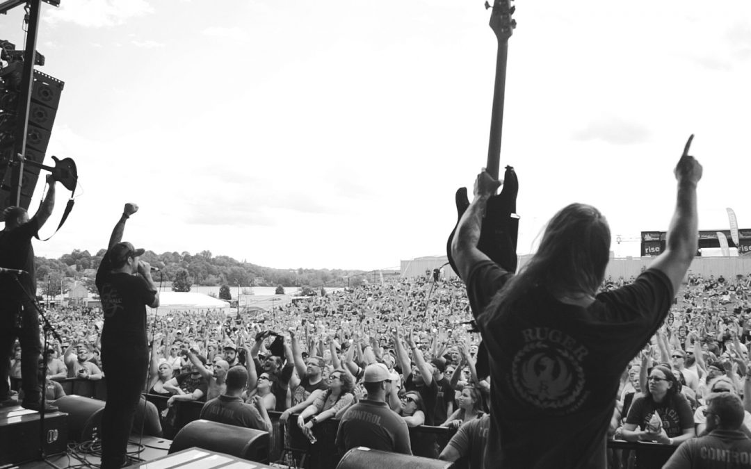 DED on Tour with Korn and Stone Sour now