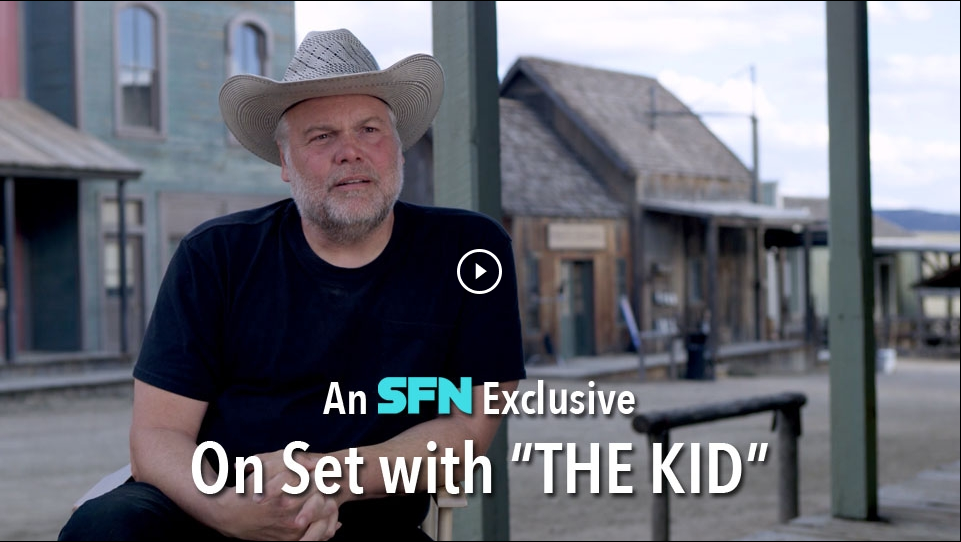 "First Look: On Set With ""The Kid"""