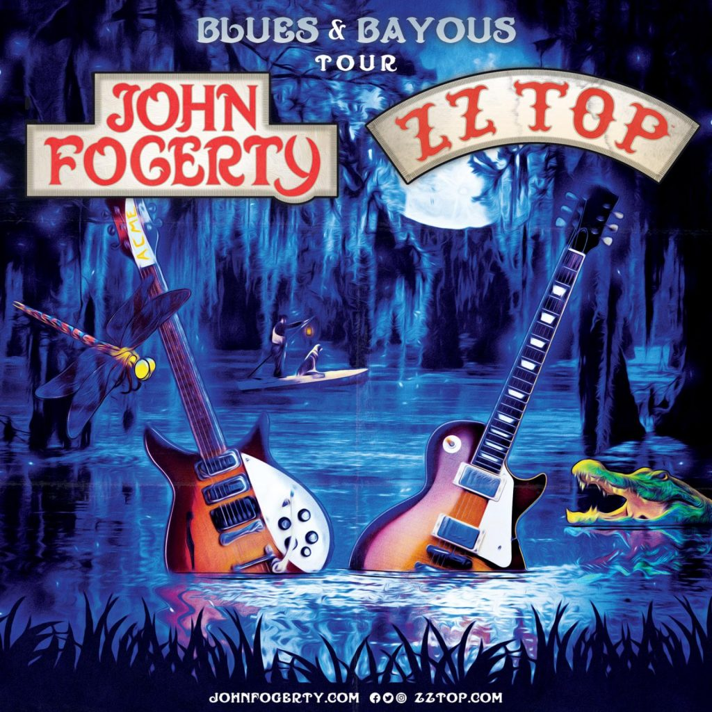 "Tickets for the ""BLUES AND BAYOUS TOUR"" with John Fogerty are now live!"
