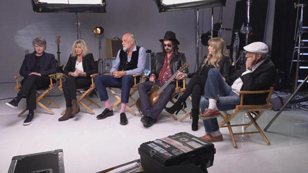 FLEETWOOD MAC INTERVIEW ON CBS THIS MORNING